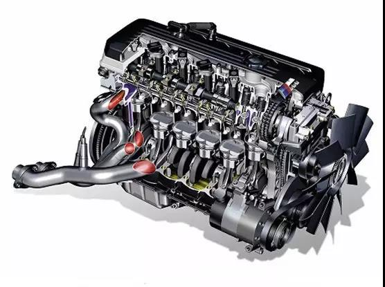 How many parts does a car engine consist of