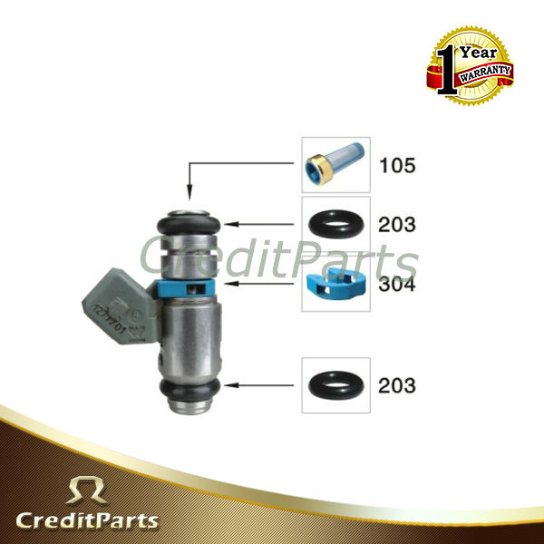 Magneti Marelli Fuel Injector Kits CF-010 includes viton oring and filter